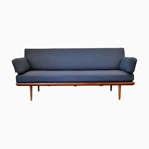 Teak Minerva Daybed by Peter Hvidt & Orla Mølgaard-Nielsen for France & Søn, 1960s