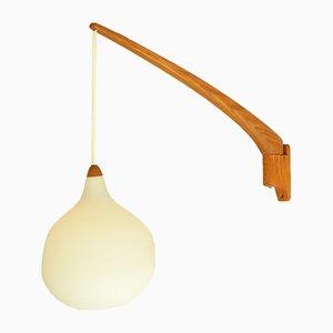 Lampada da parete nr. 705 Mid-Century di Uno & Östen Kristiansson per Luxus