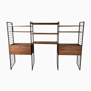 Vintage Ladderax System Shelving Units by Robert Heal for Staples, Set of 3