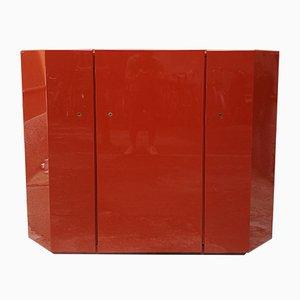 Red Bramante Sideboard by Kazuhide Takahama for Simon Gavina, 1968