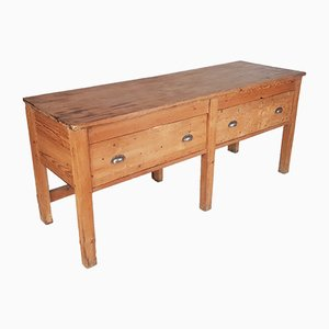 19th-Century Industrial Baker's Table