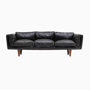 V11 Sofa von Illum Wikkelsø für Holger Christiansen, 1970er