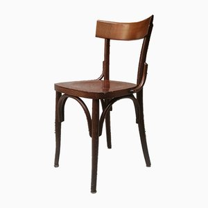 Italian Wooden Tavern Chair, 1960s