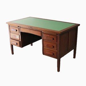 Vintage English Oak Desk