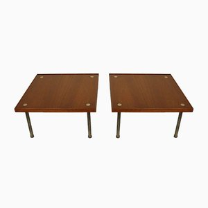 Italian Coffee Tables by Melchiorre Bega for Klan, 1960s, Set of 2