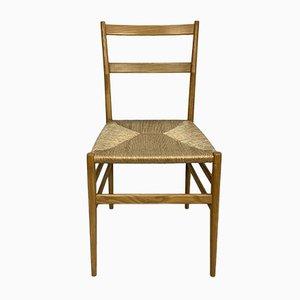 Chaise de Salle à Manger Leggera par Gio Ponti pour Cassina, 1960s