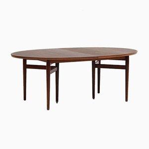 Tavolo da pranzo ovale nr. 212 di Arne Vodder, anni '70