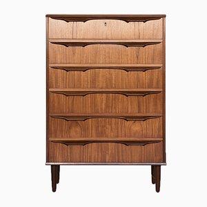 Mid-Century Teak 6-Drawer Dresser by Klaus Okholm, 1960s