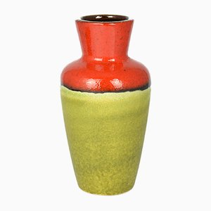 Mid-Century German Ceramic 523-18 Vase from Scheurich