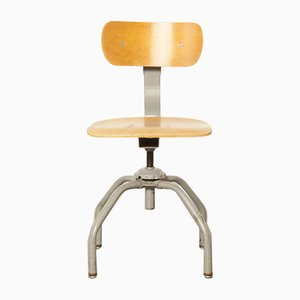 Industrieller Vintage Stuhl von Singer, 1950er