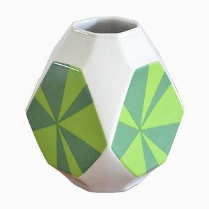 Pop Art Vintage Porzellan Vase von Seltmann Weiden