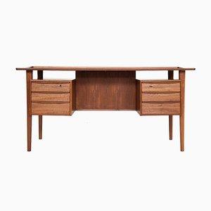 Schreibtisch aus Teak von Peter Løvig Nielsen für Løvig, 1960er