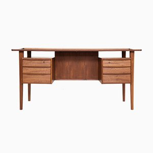 Teak Desk by Peter Løvig Nielsen for Løvig, 1960s