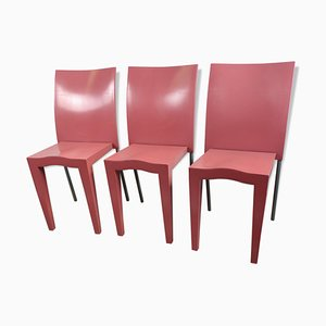 Vintage Miss Global Stacking Dining Chairs by Philippe Starck for Kartell, Set of 3
