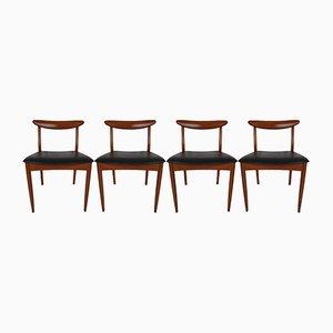 Chaises de Salle à Manger de Greaves & Thomas, 1960s, Set de 4