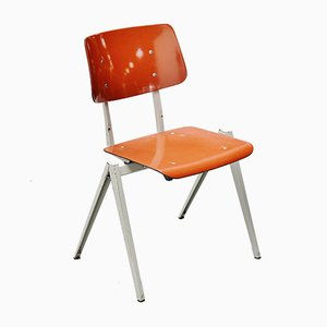 Vintage Industrial Stacking Chair from Galvanitas, 1970s