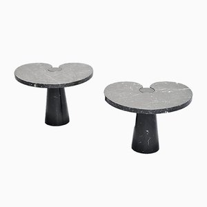 Eros Side Tables by Angelo Mangiarotti for Skipper, 1971, Set of 2