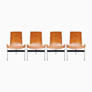 Italienische T-Chairs von Katavolos, Kelley und Littell für ICF De Padova, 1952, 4er Set