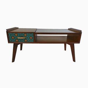 Table Basse en Teck et Verre par by E. Gomme pour G-Plan, 1950s