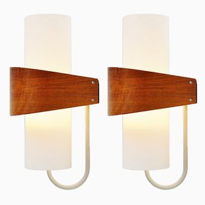 NX40 Sconces by Louis Kalff for Philips 1959, Set of 2