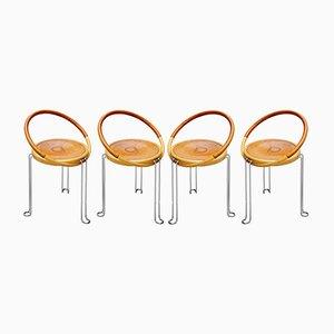 Chaises de Salle à Manger Circle de Oblado, Suède, 1970s, Set de 4