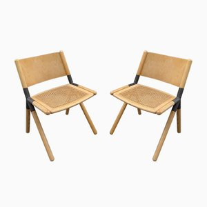 Scandinavian Spider Dining Chairs, Set of 2