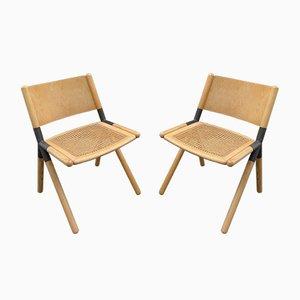 Skandinavische Spider Esszimmerstühle, 2er Set