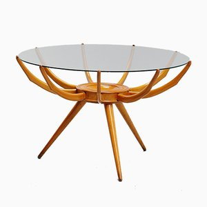 Italian Ragno Coffee Table by Carlo de Carli, 1950s