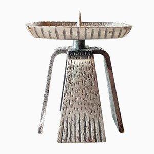 Vintage Brutalist Candleholder