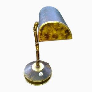 Französische verstellbare Tischlampe, 1930er