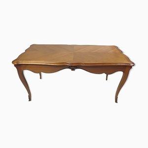 Table de Salle à Manger Style Louis XV Antique