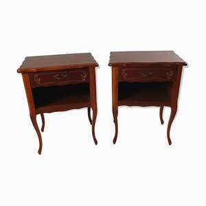 Antique Louis XV Nightstands, Set of 2