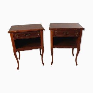 Tables de Chevet Louis XV Antiques, Set de 2