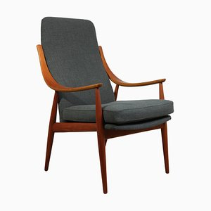 Model 148 Teak Armchair, 1960s