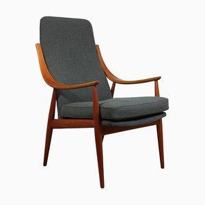 Modell 148 Armlehnstuhl aus Teak, 1960er