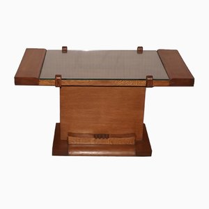 Tavolino da caffè basso di Charles Dudouyt, anni '40