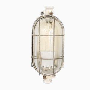 Lámpara de pared náutica vintage, años 60