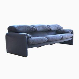Maralunga 3-Sitzer Sofa von Vico Magistretti für Cassina, 2000er