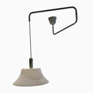 Vintage Ceiling Lamp by W. Hagoort for Hagoort, 1970s