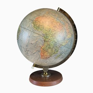 Vintage Danish Illuminated Globe from Scan-Glob A/S, 1960s