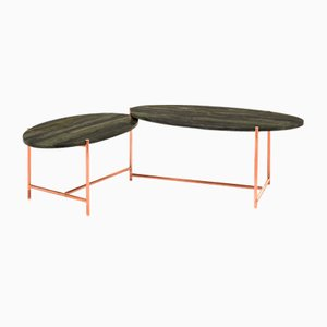 Big Sur Low Swivel Table by Alberto Colzani for Epònimo