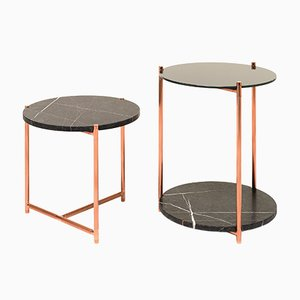 Grande Table d'Appoint Long Playing par Alberto Colzani pour Epònimo
