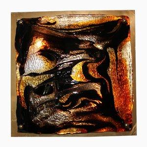 Wandlampe von Toni Zuccheri, 1970er