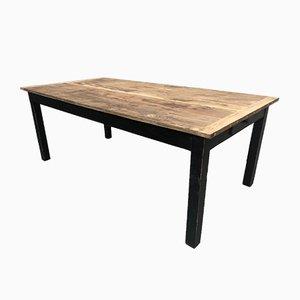 Oak Workshop Table, 1920s
