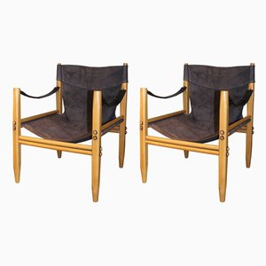 Safari Stühle von Zanotta, 1960er, 2er Set