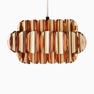 Lampe à Suspension en Cuivre par Thorsten Orrling pour Hans-Agne Jakobsson AB Markaryd, Suède, 1960s