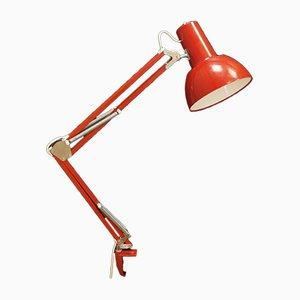 Lámpara de mesa danesa vintage, años 70