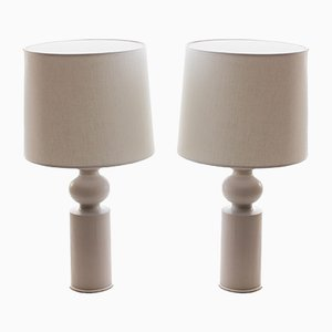 Scandinavian Modern Table Lamps by Uno & Östen Kristiansson for Luxus, 1960s, Set of 2