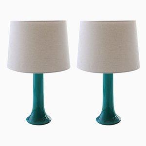 Moderne Tischlampen im skandinavischen Stil von Uno & Östen Kristiansson für Luxus, 1960er, 2er Set