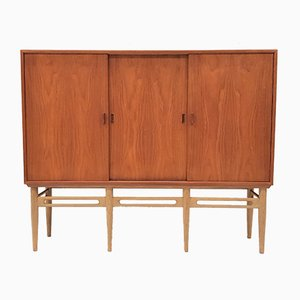 Model 90 Cupboard by Illum Wikkelsø for Søren Willadsen Møbelfabrik, 1950s